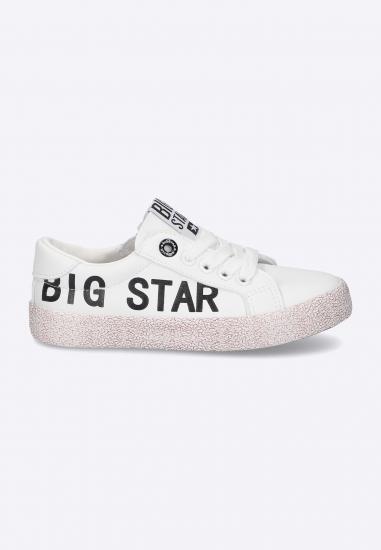 Półbuty dziewczęce z napisami BIG STAR