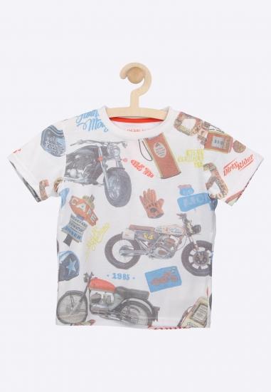 T-shirt z nadrukiem LOSAN -...