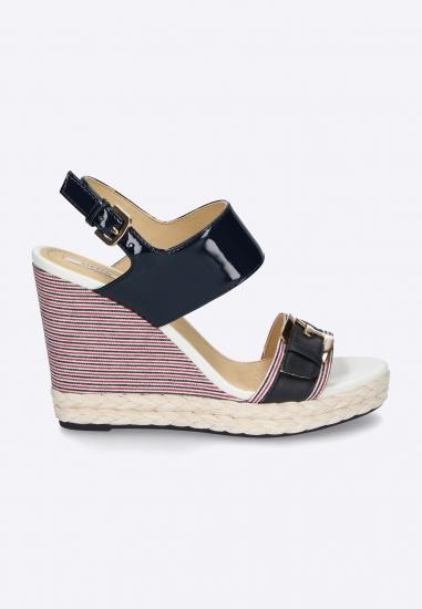 Kolorowe sandały na...