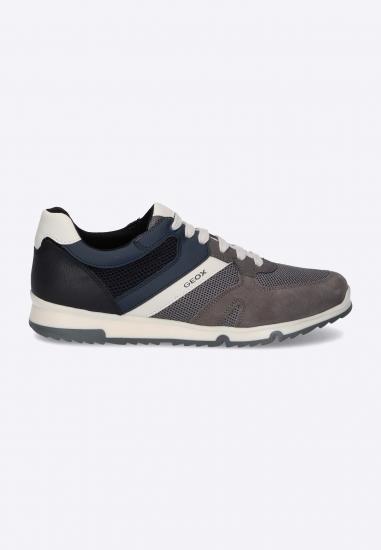 Sneakersy sznurowane GEOX -...