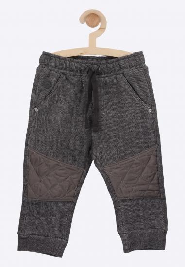 Spodnie dresowe ze wstawką...
