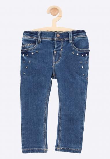 Spodnie jeansowe z ćwiekami...