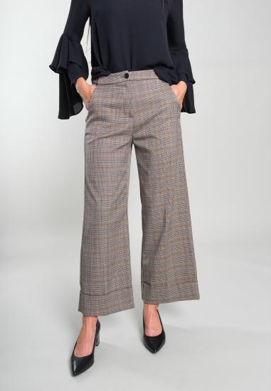Spodnie typu culotte w...