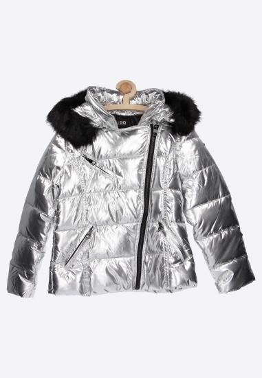 Pikowana metaliczna kurtka I Do