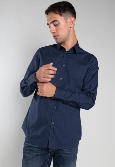 Koszula w kropki slim fit...