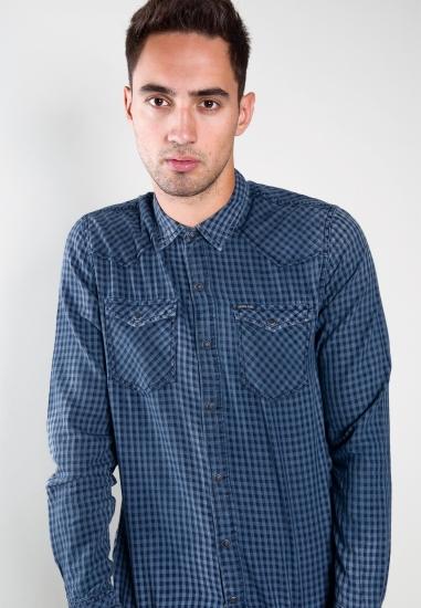 Bawełniana koszula w kratkę...