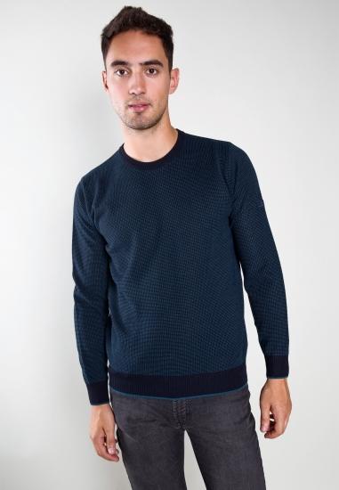 Sweter z mieszanki wełny i...