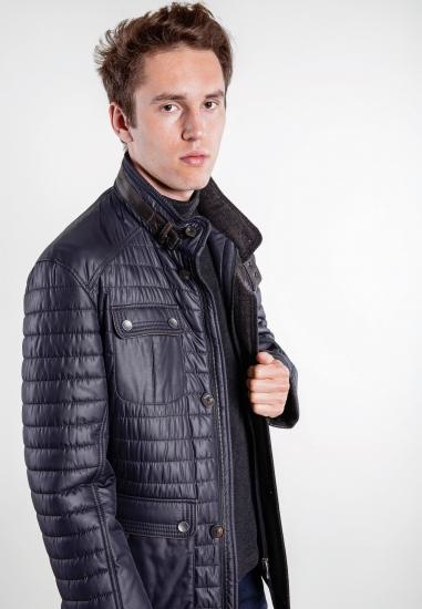 Pikowana kurtka Bugatti -...