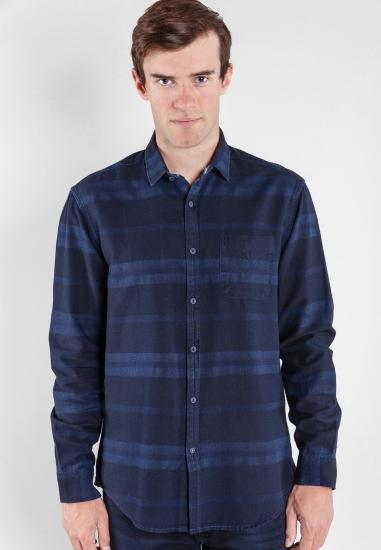 Koszula w paski regular fit Pioneer