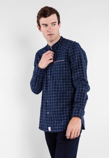 Koszula w kratkę slim fit Pierre Cardin