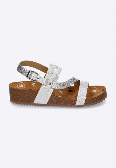 Sandały damskie na koturnie...