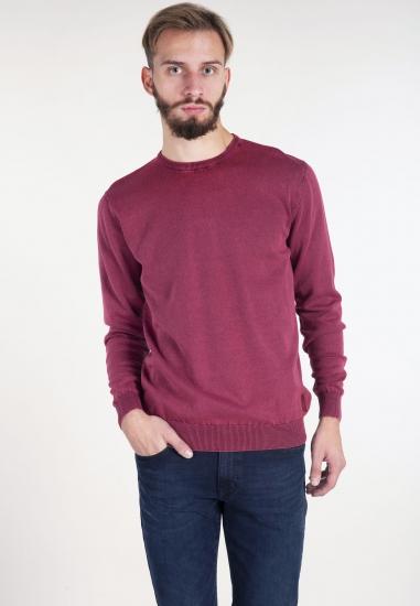 Sweter z efektem sprania...