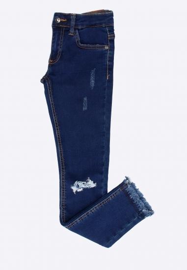 Spodnie jeansowe z przetarciami Melby