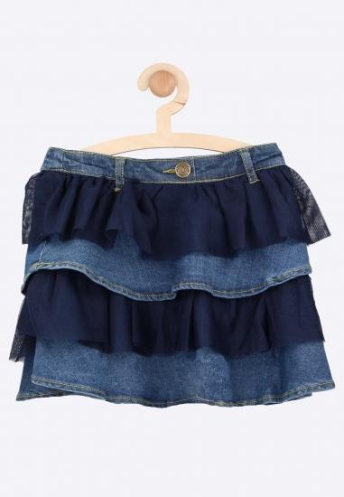 Jeansowa spódniczka Boboli