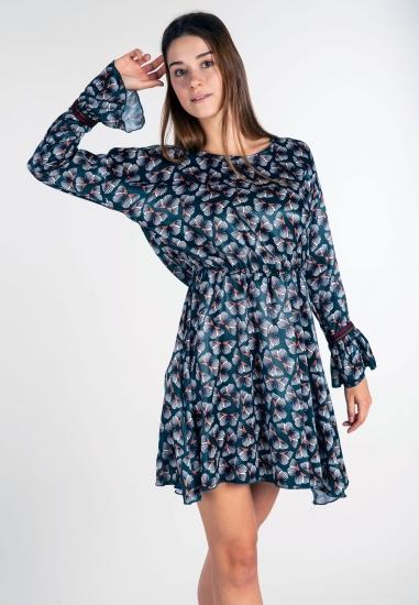 Wzorzysta sukienka Eks -...