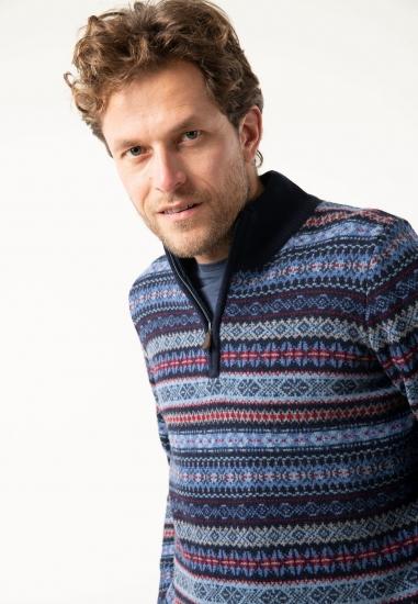 Sweter z wełny merino Fynch...