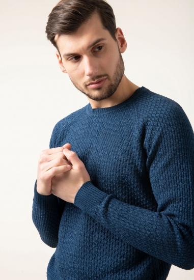 Sweter z mieszanki żywej...