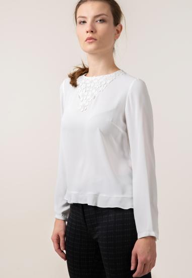 Bluzka z haftem Tinta Style