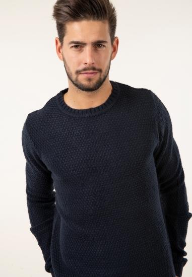 Sweter z domieszką wełny Be...