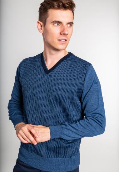 Big size sweter z wełny...