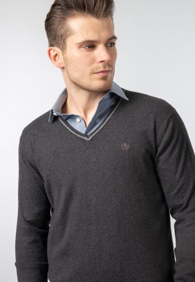 Sweter V-neck Ascot Sport -...