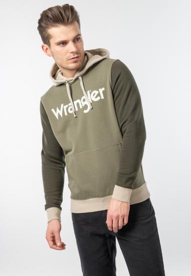 Bluza z kapturem Wrangler -...