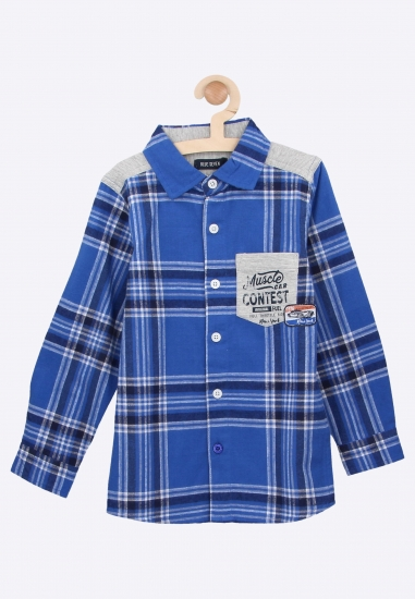 chłopięca koszula Blue Seven