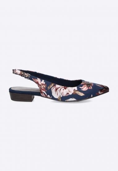 Kwieciste sandały Tamaris