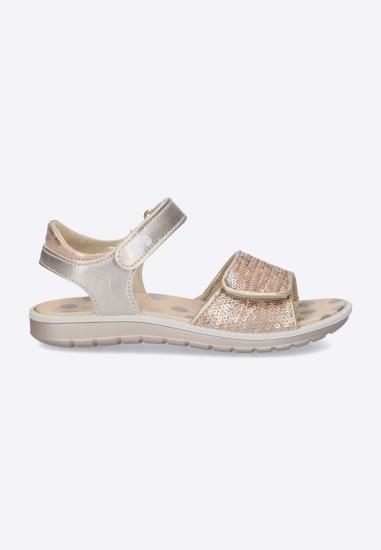 Sandały dziewczęce z cekinami Primigi