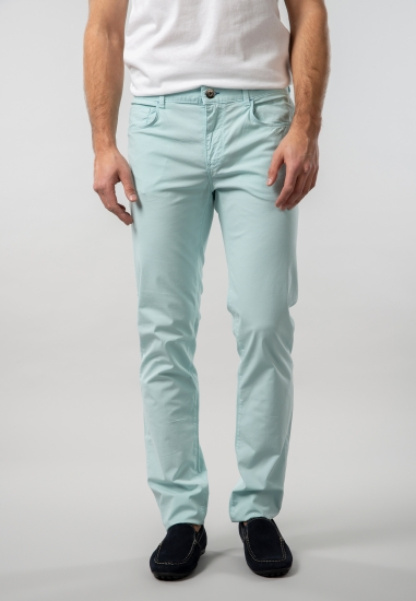 Męskie spodnie regular...