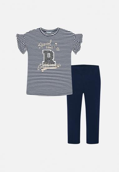 komplet dziewczęcy bluzka + legginsy Mayoral