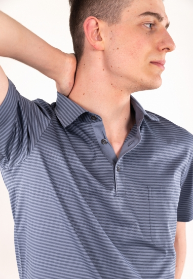 Bawełniana koszulka polo NINO MARINI