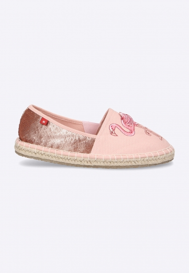 Espadryle z flamingami BIG STAR