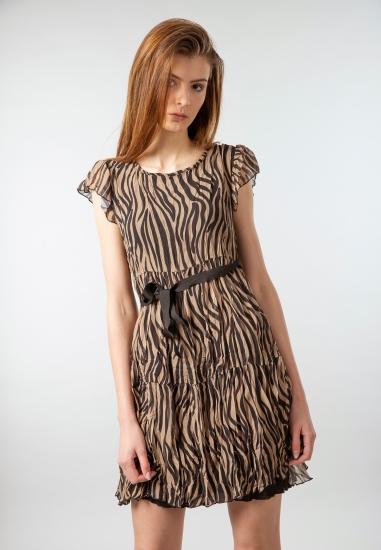Sukienka w zwierzęcy deseń...