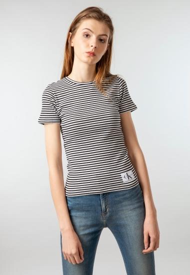 Koszulka damska w prążki...