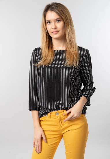 Wzorzysta bluzka damska Jacqueline De Yong