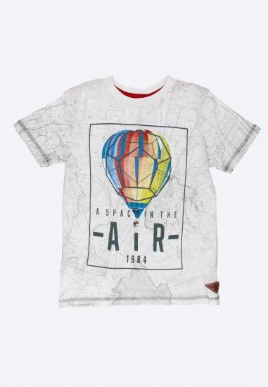 Wzorzysty T-shirt Boboli