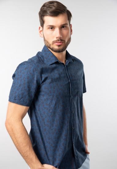 Koszula męska z krótkim rękawem Trussardi Jeans