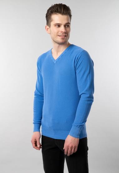 Sweter męski z bawełny...
