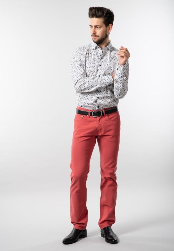 Wzorzysta koszula modern fit haupt | Nico  A9i1e