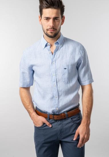 Lniana koszula męska casual fit Fynch Hatton