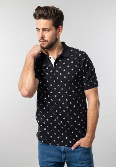 T-shirt męski polo Calvin...