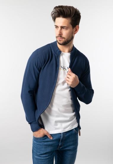Rozpinany sweter męski...