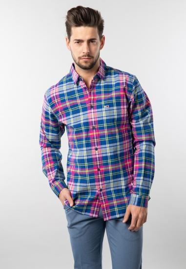 Męska koszula w kratkę regular fit Tommy Jeans