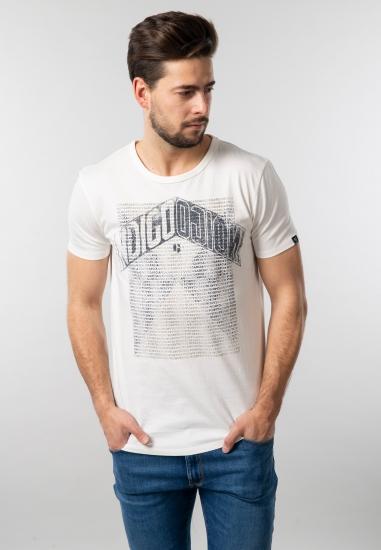 Koszulka męska z nadrukiem Garcia