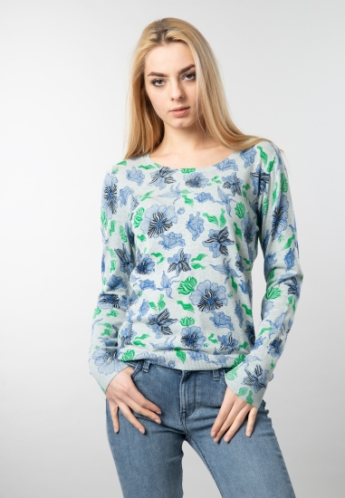 Wzorzysty sweter Garcia Jeans