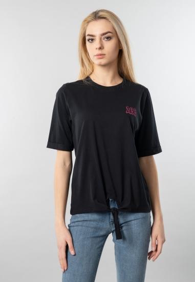 T-shirt damski z nadrukiem Lee