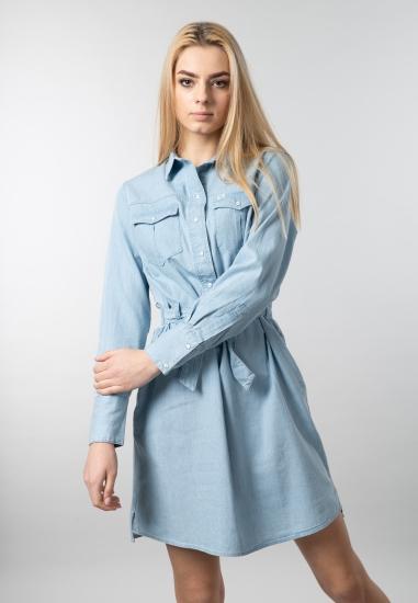 Sukienka jeansowa Lee