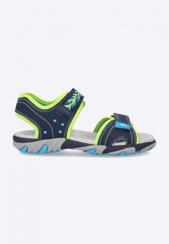 Sandały chłopięce ze zdobieniem Superfit