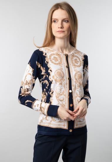 Wzorzysty sweter Cecilia Benetti
